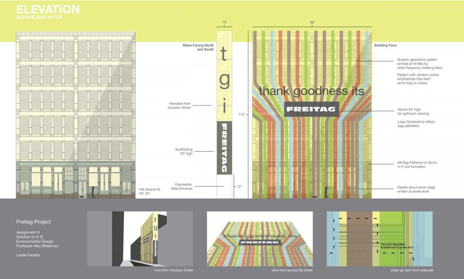 Building Facade Design & Illustration Infographic
