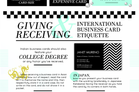 Business Cards Are Still In Business Infographic