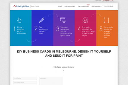 Business cards design for free Infographic