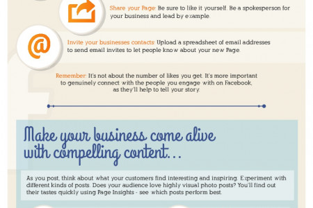 Business Guide To Facebook Infographic