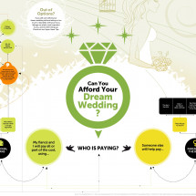 Can You Afford Your Dream Wedding?  Infographic