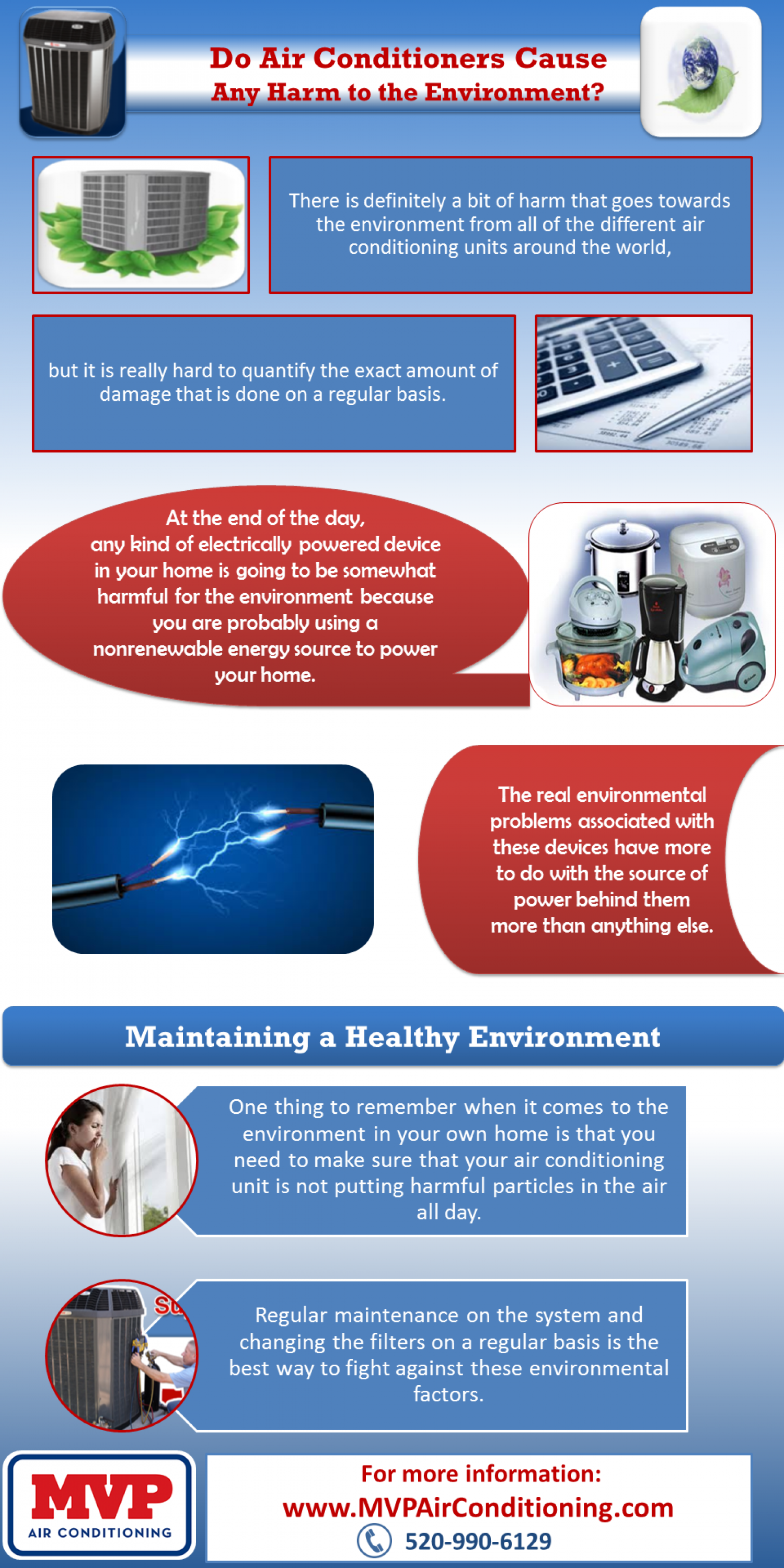 Can your Air Conditioner Harm the Environment? Infographic