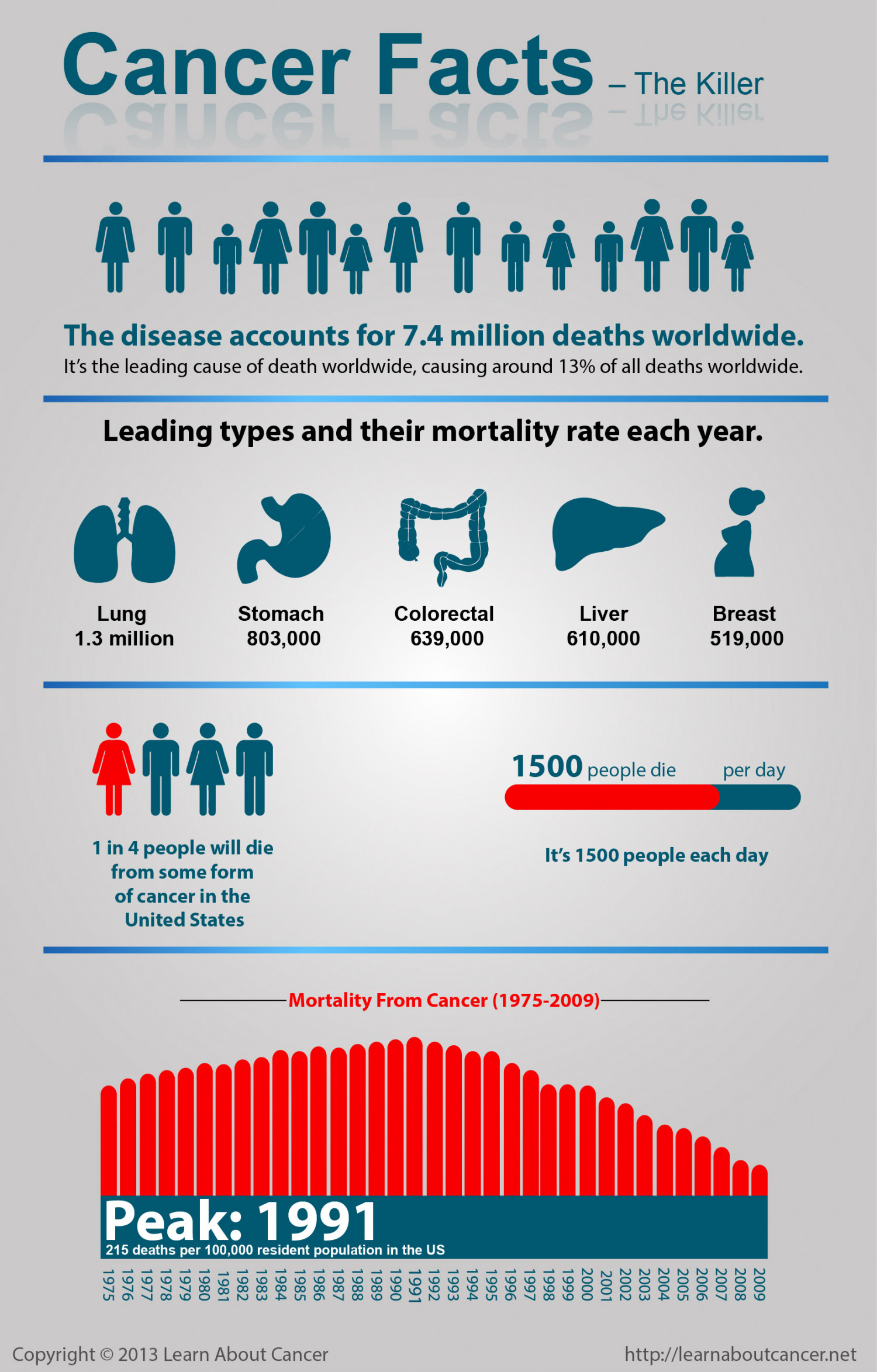 Cancer Facts - The Killer Infographic