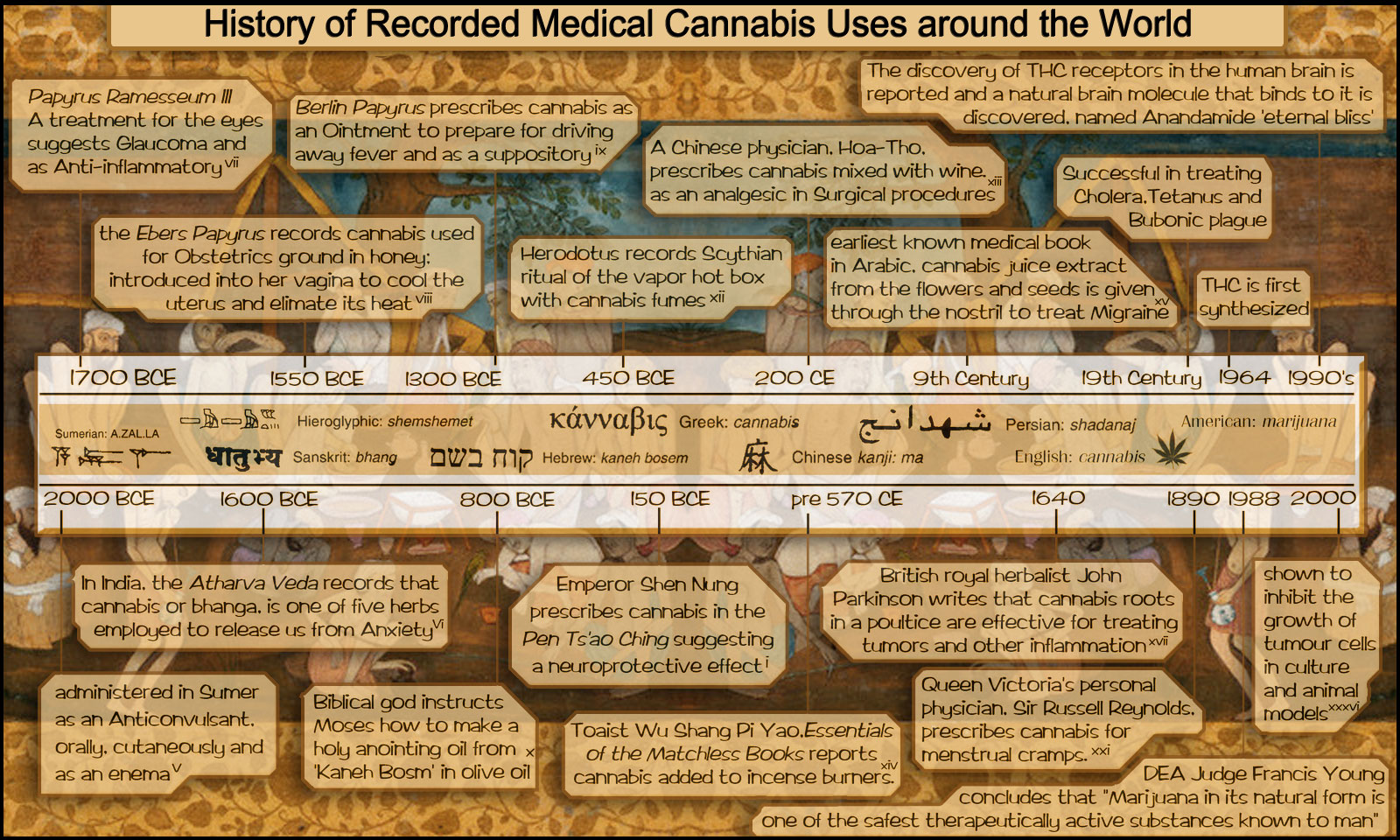 forums cannabis facts information chronology