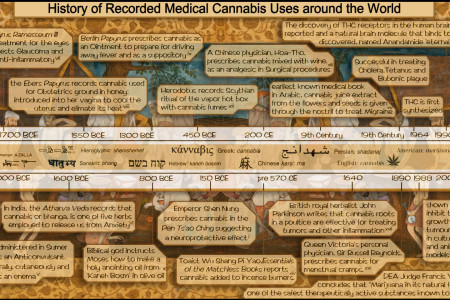 Cannabis Usesr in History Infographic