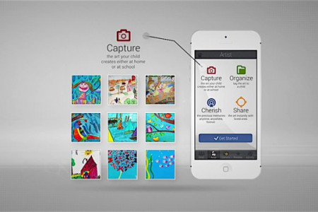 Canvsly – A Home For Your Child's Precious Artwork Infographic
