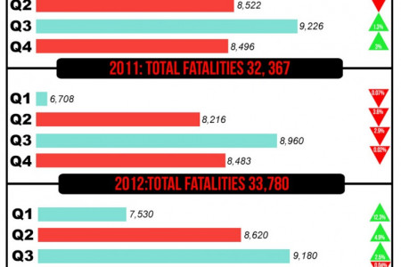 Car Crash Fatalities Infographic