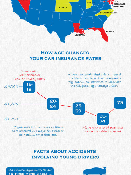 Car Insurance by Age Infographic