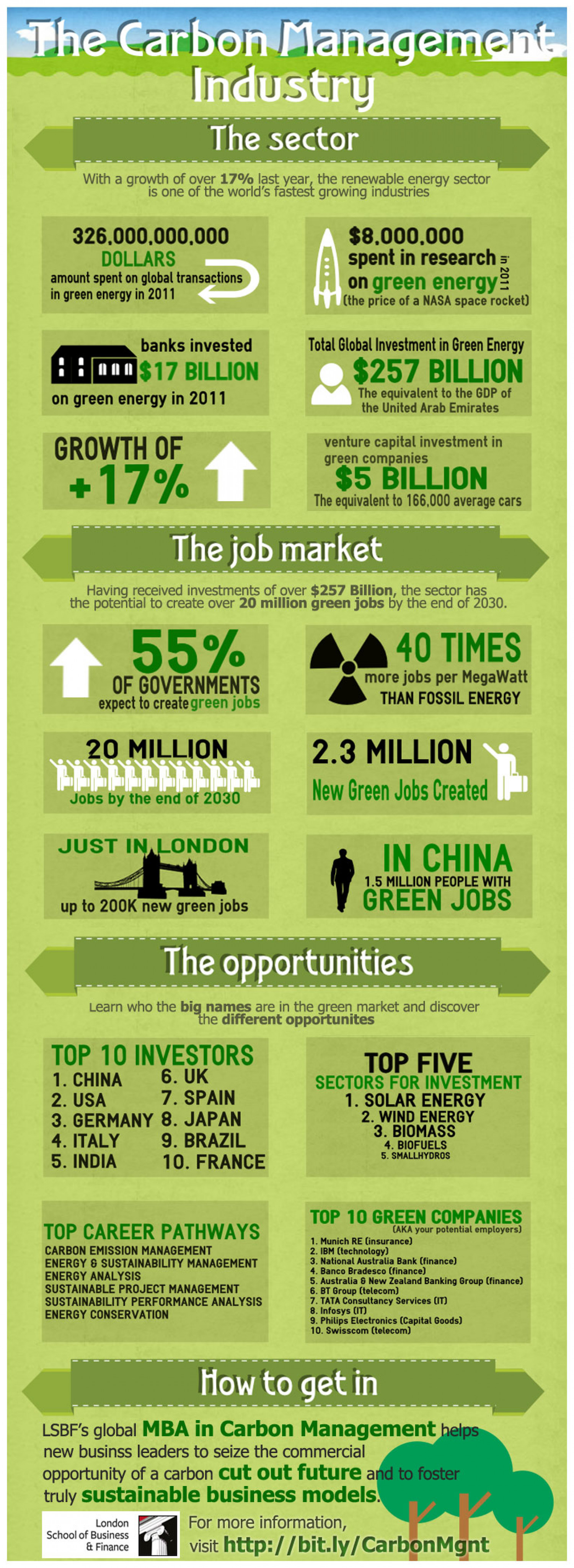 Carbon Management Infographic