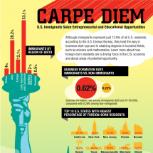 CARPE DIEM Infographic
