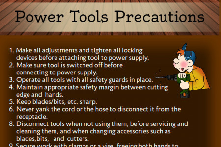 Carpentry Safety Precautions Infographic