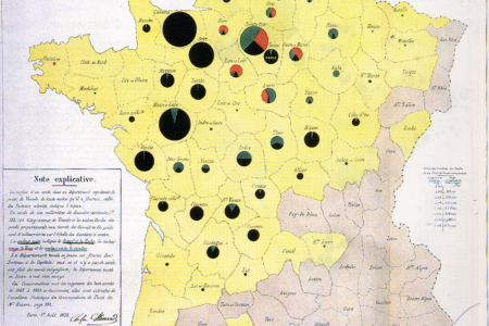 Carte de Distribution de la Viande Infographic