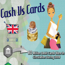 Cash Vs Cards UK - Infographic Infographic