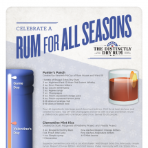 Celebrate a Rum for All Seasons  Infographic