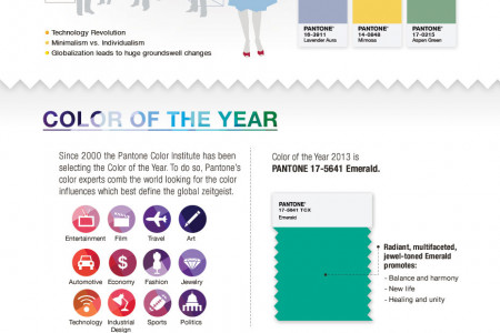 Celebrate Color Infographic