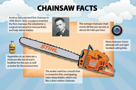 Chainsaw trivia Infographic