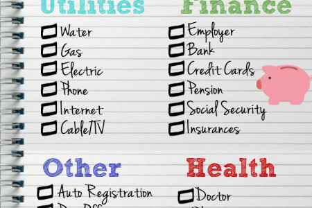 Changing Your Address Checklist Infographic