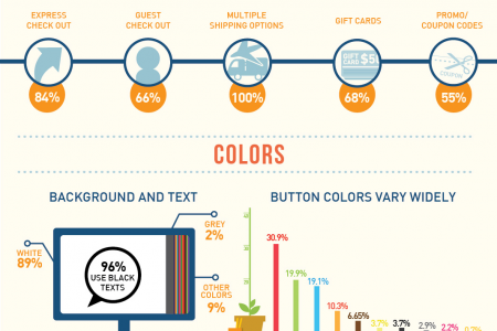 Checkout / Shopping Cart Optimization Infographic Infographic