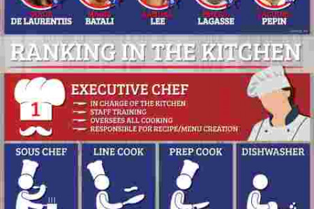 Chefs: Career Facts and Statistics Infographic