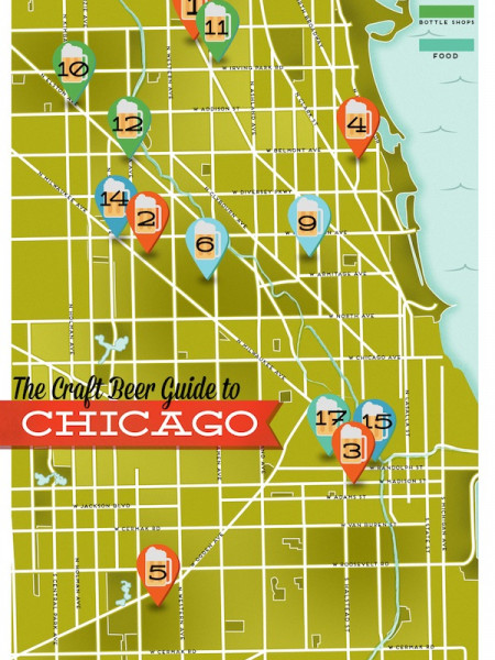 The Draft Beer Guide to Chicago Infographic