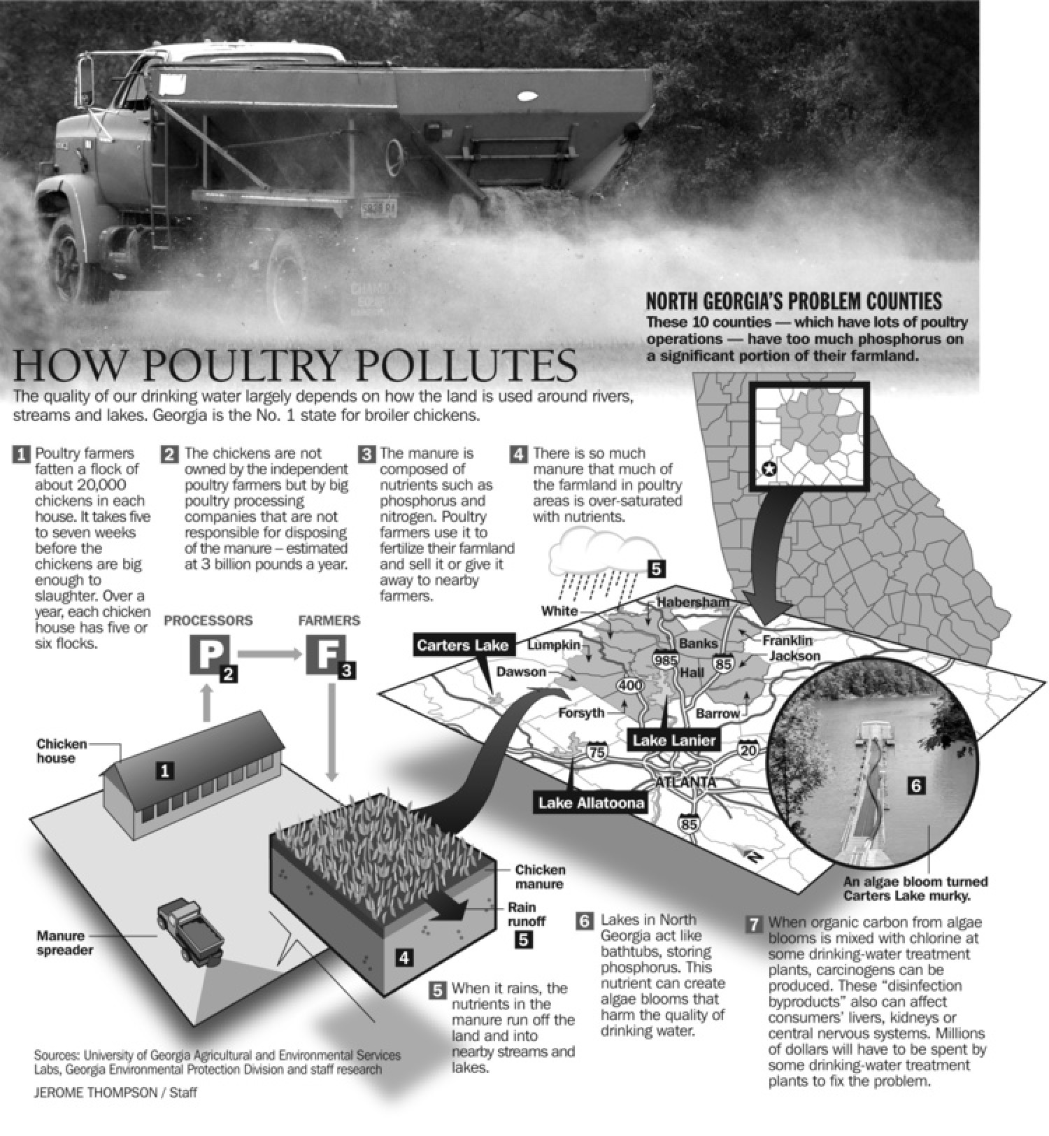 How Poultry Pollutes Infographic
