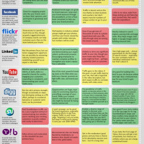 Chief Marketing Officers and Social Media Infographic