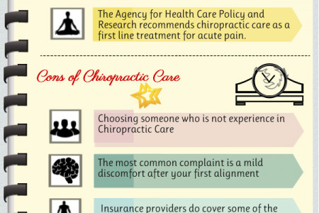 Chiropractic Care Pros & Cons Infographic