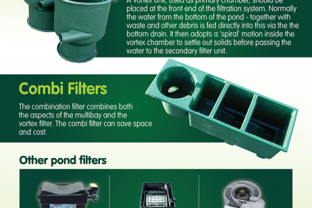 Choosing the right filtration system for your pond Infographic