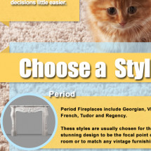 Choosing The Right Fireplace Surrounds Infographic
