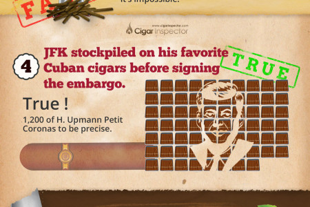 CIGAR MYTHS DEBUNKED Infographic