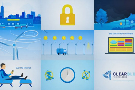 Clear Blue Technology - Explainer Video Infographic