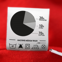 Clothing Label Infographic