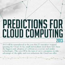 Cloud Computing Predictions for 2013 Infographic