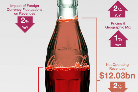 CocaCola Earning Review Infographic