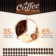 Coffee facts Infographic