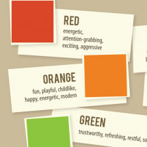 Color Meanings in Design Infographic