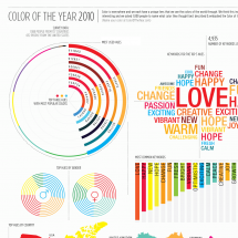 Color of the Year 2010 Infographic