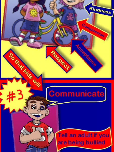 Combat Bullying (without fighting) Infographic