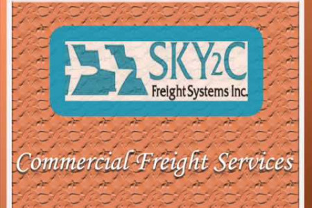 Commercial Freight Services Infographic