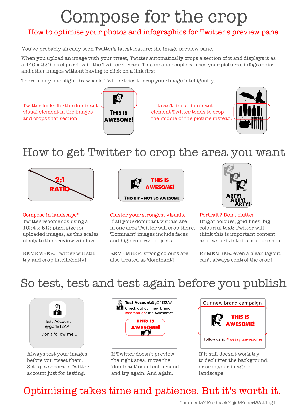 How To Optimize Your Photos And Infographics For Twitter's Preview Pane
