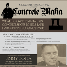 Concrete Mafia: How the Mob Uses Polished Concrete Infographic