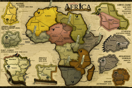 Conflict: Africa Infographic