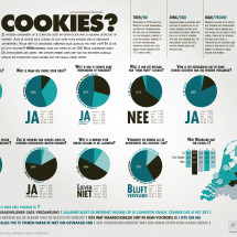 Consumentenonderzoek: Cookies? Infographic