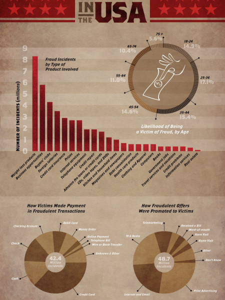 Consumer Fraud in the U.S.A  Infographic