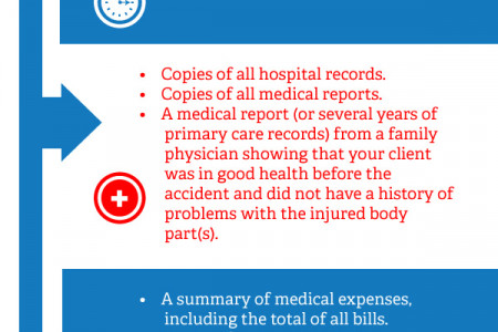 Convince the Insurance Company to Settle the Case Infographic