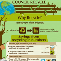 Council Recycle Infographic