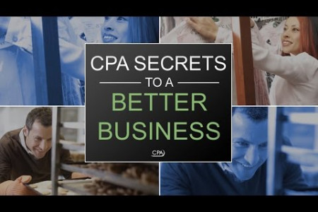 CPA SECRETS TO A BETTER BUSINESS: ACQUIRING FINANCING Infographic