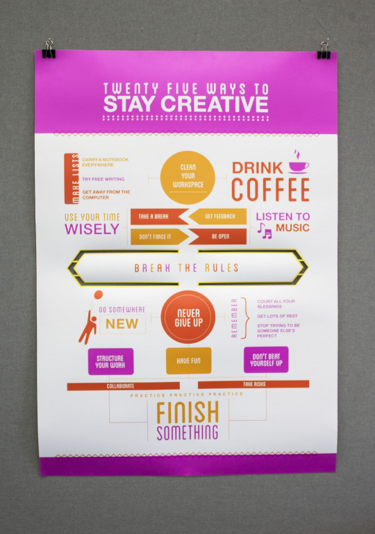 Creative Boost - Ways To Stay Creative