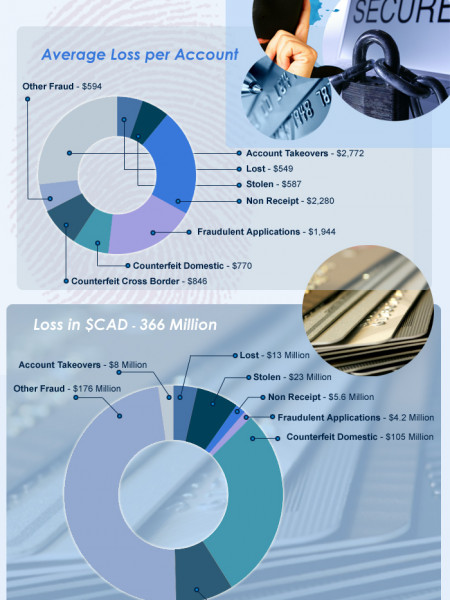 Credit Card Fraud in Canada Infographic