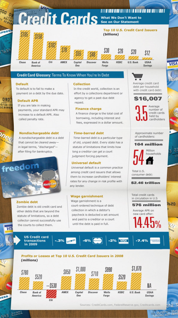 Credit Card Statements Infographic